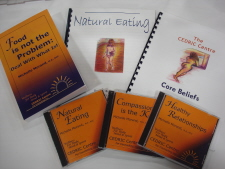 Cedric Centre books and cds for eating disorder recovery
