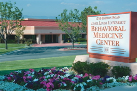 Loma Linda University Behavioral Medicine Center Sign