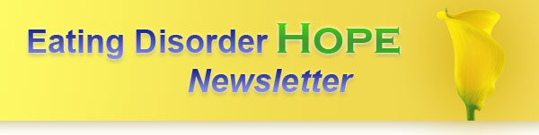 Eating Disorder Hope Newsletter