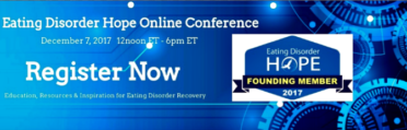 Eating Disorder Hope Online Conference Banner