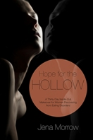 Hope for the Hollow Cover - Woman in shadows looking up