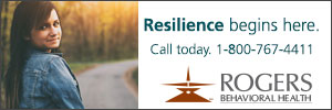 Rogers Behavioral Health Banner