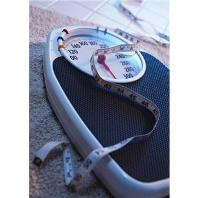 Dieting and weighing scale