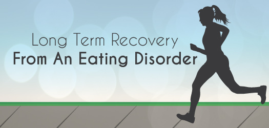 Long Term Recovery From An Eating Disorder Graffic