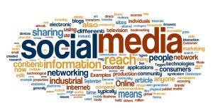 Social Media Cloud Text