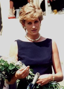 Princess Diana battling bulimia