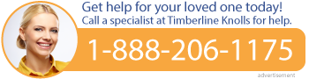 Do you need help now? Call a specialist at Timberline Knolls for Eating Disorders: 1-888-206-1175