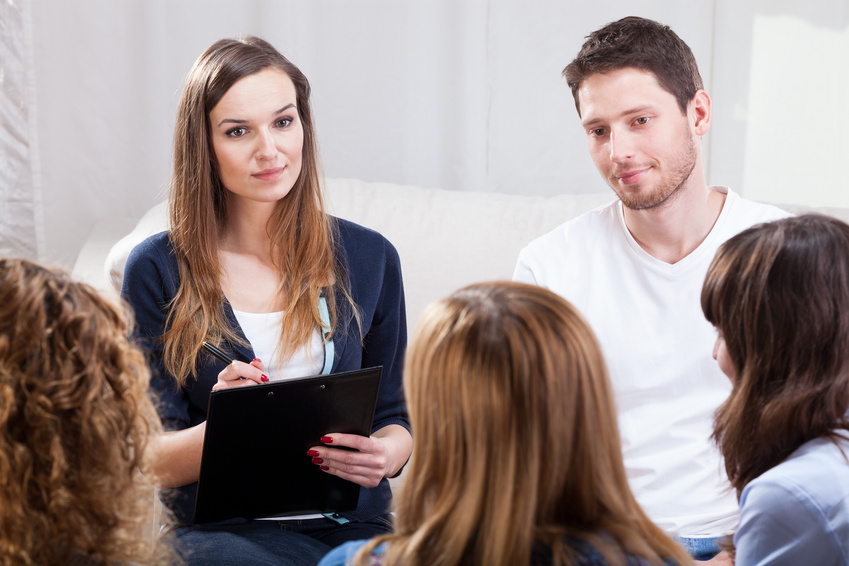 Parent involvement in group therapy