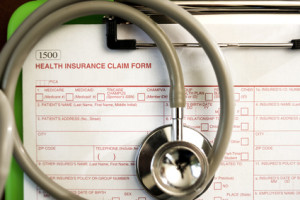 Insurance Coverage for Bulimia Claim Form - Shallow DOF