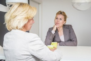 Mother and friend discussing Best Eating Disorder Rehabs