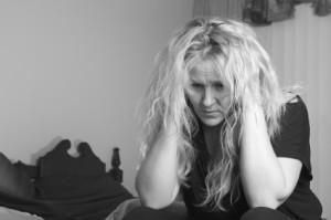 Woman battling self-harm