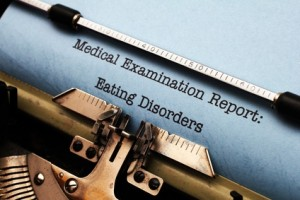 Medical report - eating disorder