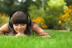 Music, Headphones, Listening.