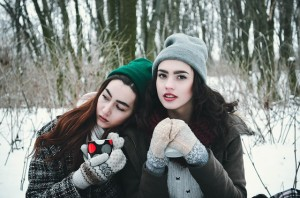 Being in contact with people you love in person or virtually can help with holiday depression and grief