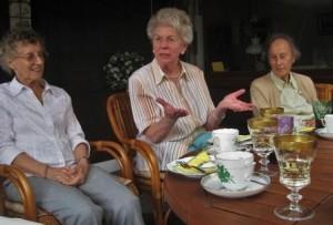 Elderly woman discussing binge eating disorder