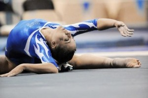 Female gymnast part of elite athletes with eating disorders