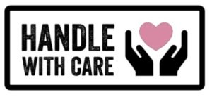 Handle with care image