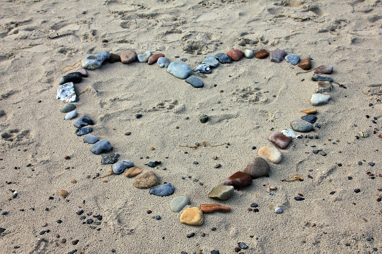 California sandy beach