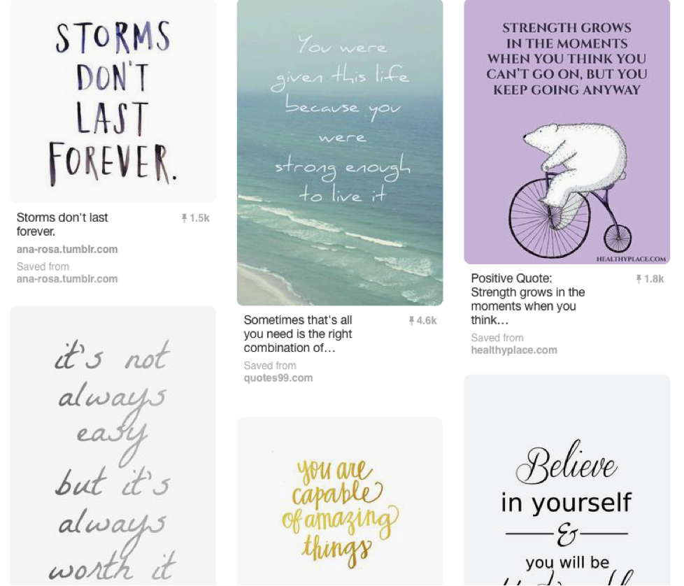 Pinterest Board 7 for the Pro-Recovery Pinterest Contest