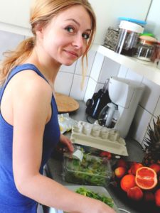 Women coping with food trend