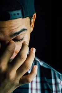Man Experiencing Sadness