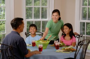 Hispanic family working through Family and Eating Disorder issues