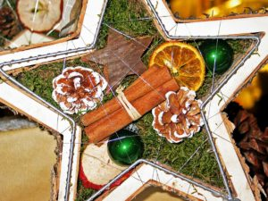 Handmade holiday star