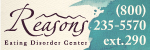 Reasons Eating Disorder Center Banner - 150 x 50