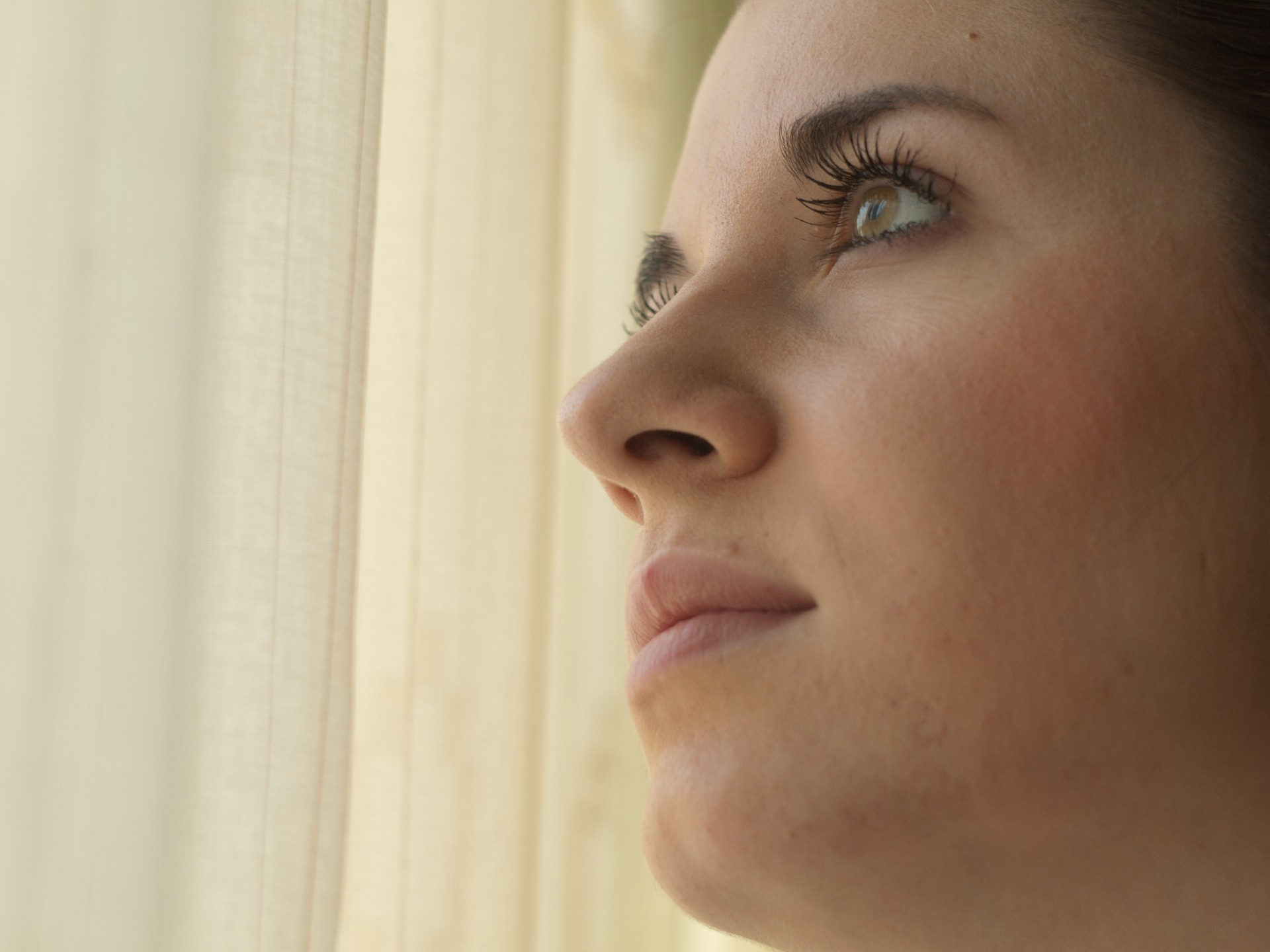 Woman thinking about Pride in Eating Disorders