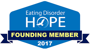 Eating Disorder Hope's Founding Member Badge
