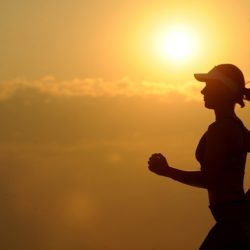 Woman running with Compulsive Exercise and Eating Disorders