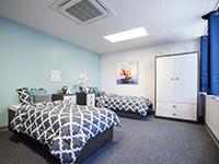 Aloria Health Bedroom