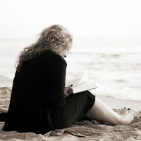 Woman by the sea in eating disorder treatment