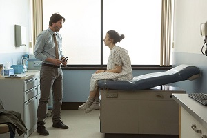 To the Bone - Keanu Reeves and Lily Collins - Ellie Being Evaluated
