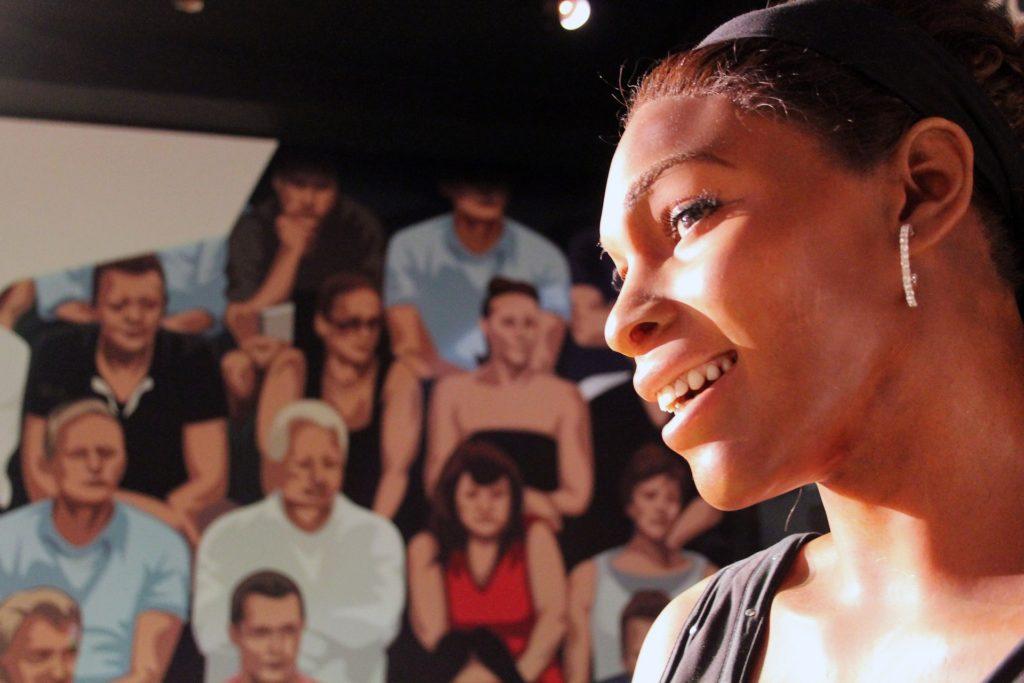 Serena Williams statue