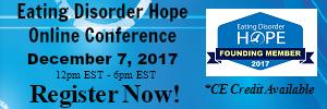Eating Disorder Hope Online Conference Banner