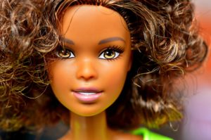 Barbie with brown hair