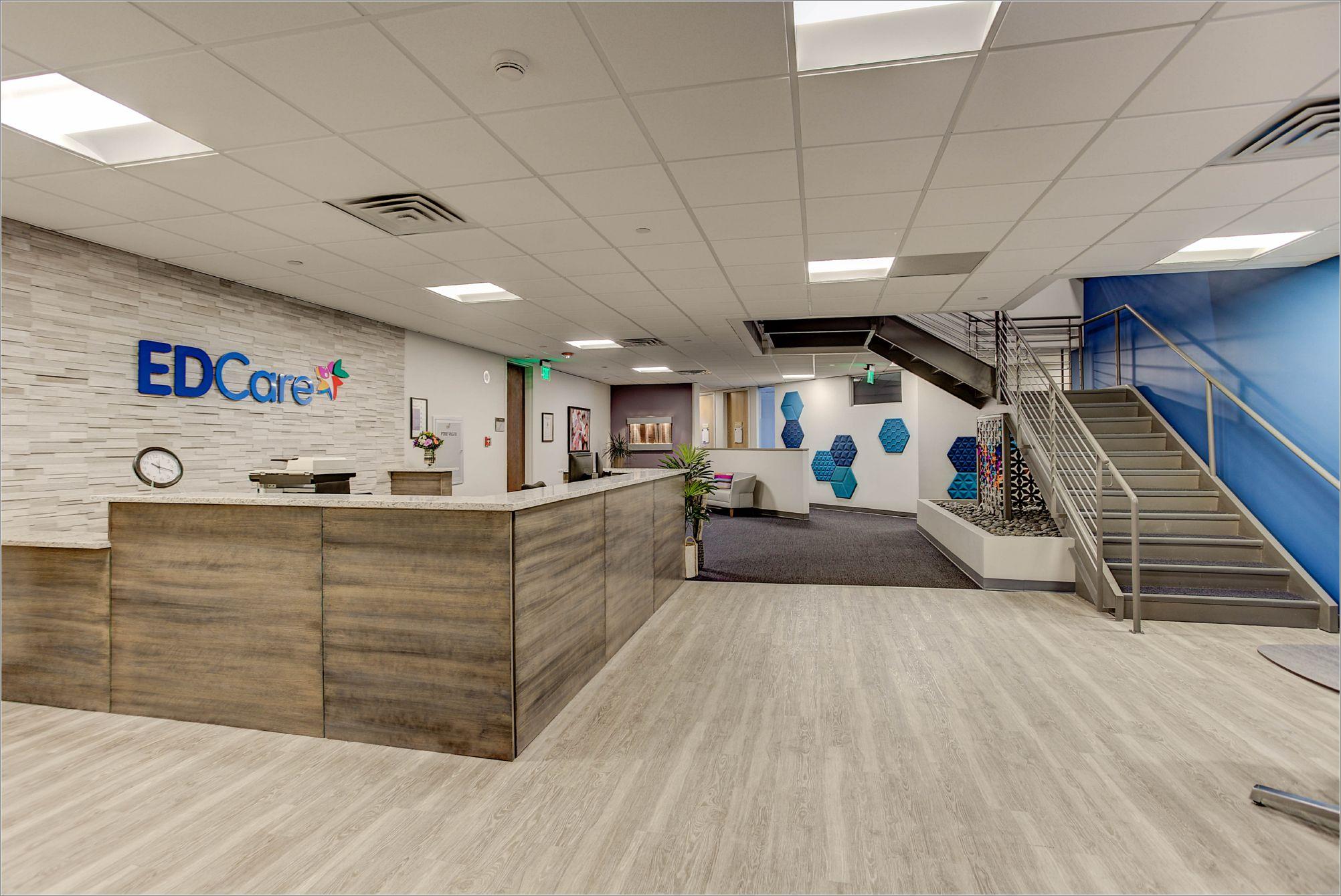 EDCare Denver Lobby