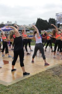 Ladies Exercising for Eating Disorder Treatment for Athletes