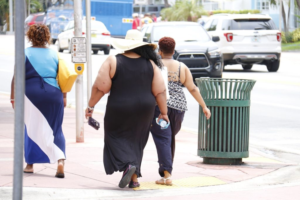 Three Obese Ladies