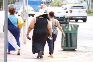 Three Obese Ladies battling Binge Eating Disorder and Type 2 Diabetes