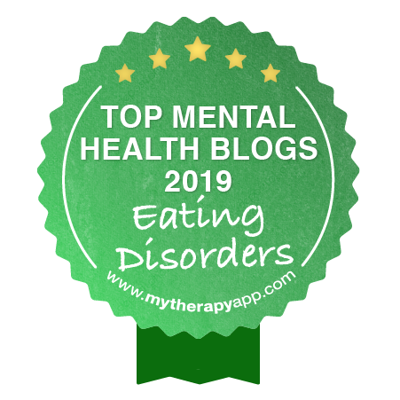 MyTherapy Top Mental Health Blogs - Eating Disorders