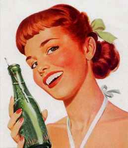 Old Soda Ad of a diet drink