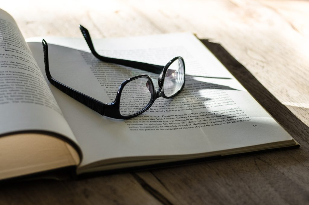 Book and glasses for Research in Diverse Populations