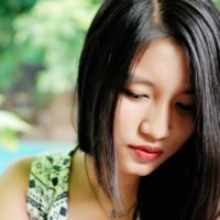Asian American Woman struggling with Eating Disorders and Diabetes