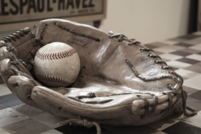 Picture of Baseball Glove and Ball for Mike Marjama