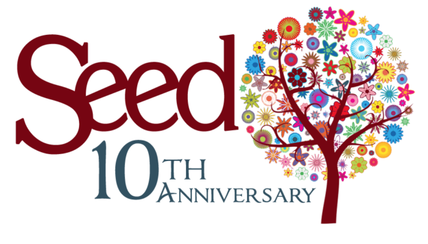 Seed 10th Anniversary Logo