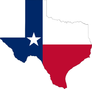 Map of Texas Eating Disorder Treatment Centers