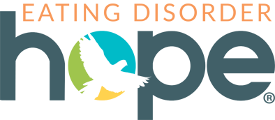 Eating Disorder Hope Banner for Programs to Advertise