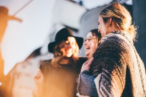 Group of ladies overcoming obesity and binge eating disorder
